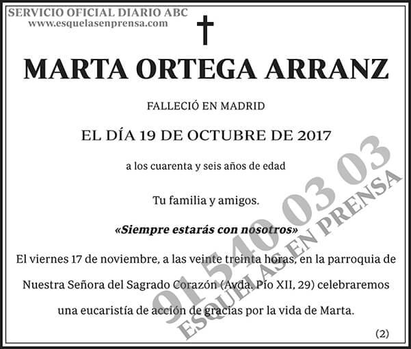 Marta Ortega Arranz